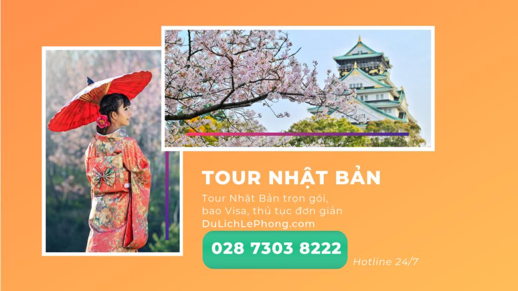 Tour Nhật Bản Du Lịch Lê Phong