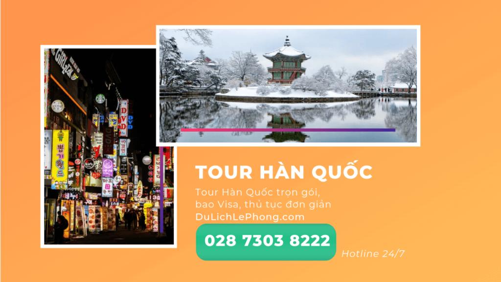 Tour Hàn Quốc Du Lịch Lê Phong