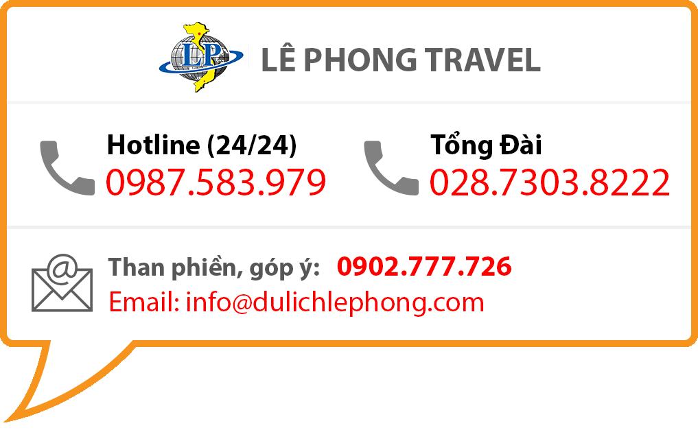 Floating Banner Du Lịch Lê Phong